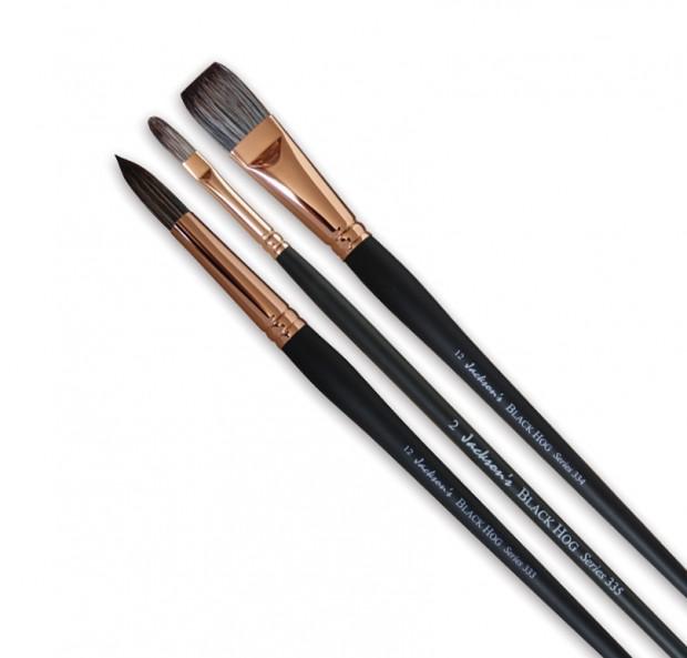 Jackson's Black Hog Brushes
