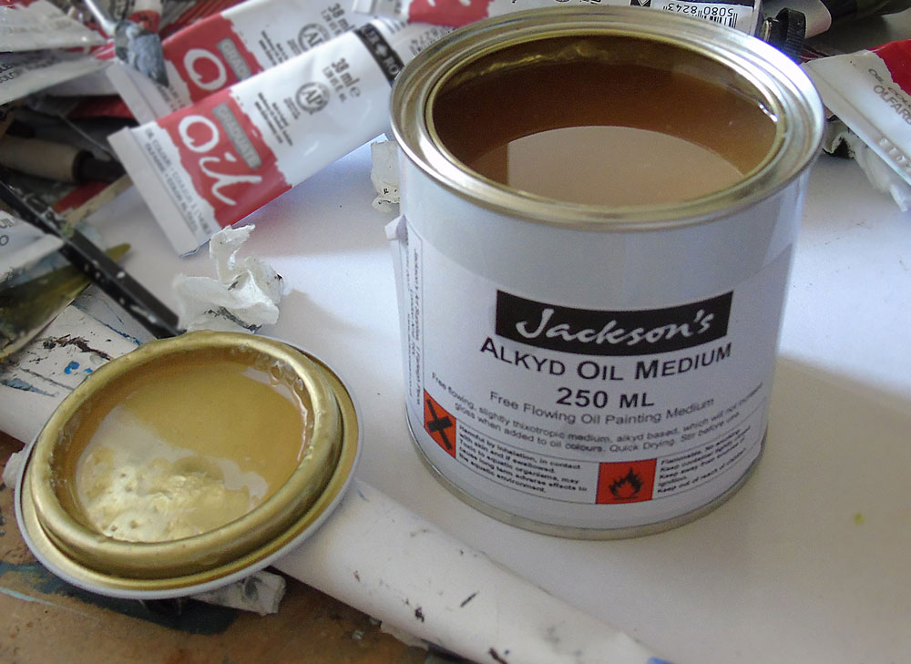 Hannah Ivory Baker reviews Jacksons Alkyd-oil-medium