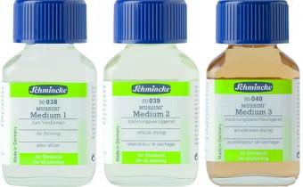 Schmincke Mussini Oil Mediums