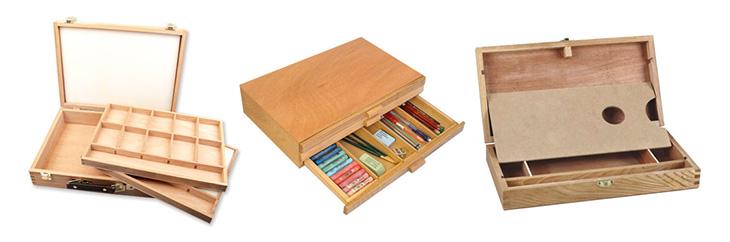 jacksons art supplies Wooden Art Boxes
