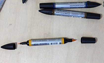 H Locke winsor and newton markers