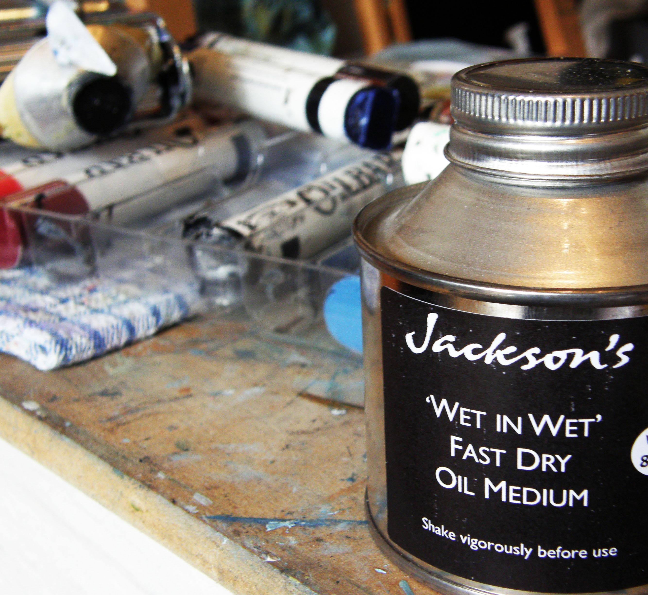 Hannah Ivory Baker reviews Wet In Wet Oil Painting Medium