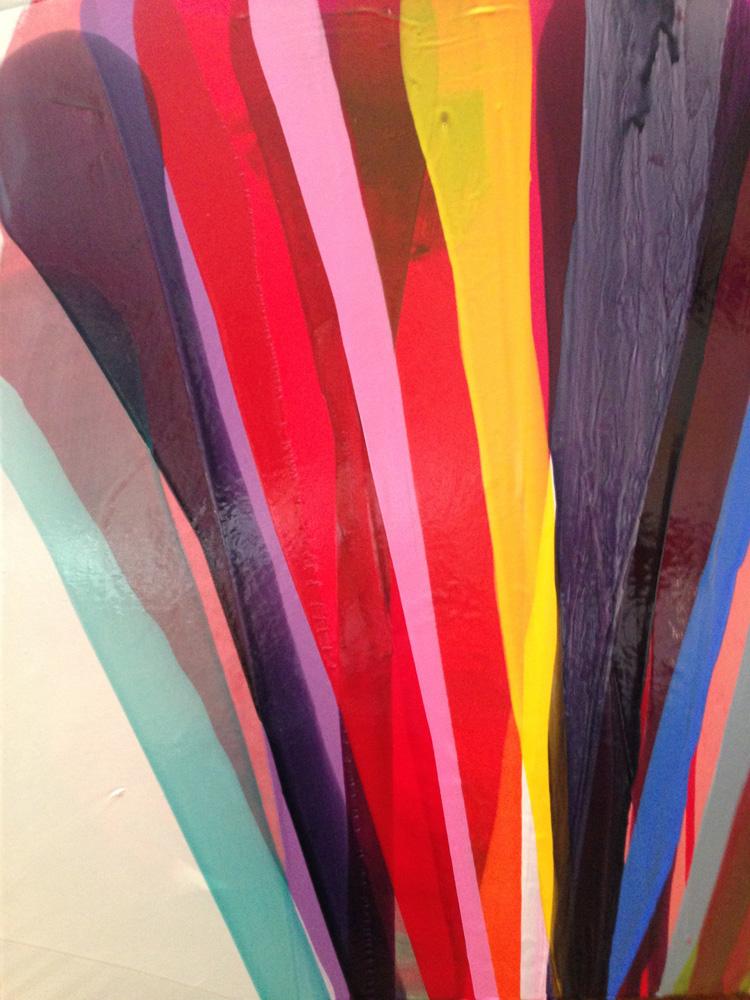 Colour Mixing workshop Laura Fishman Golden acrylics
