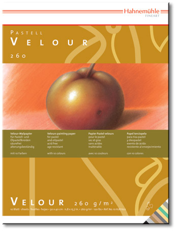 Hahnemuhle : Velour Paper for pastels