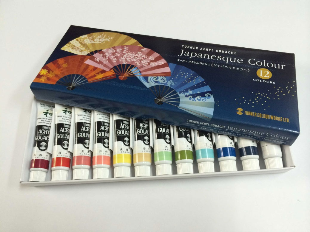 Turner Japanesque Acrylic Gouache set