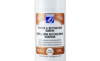 Lefranc and Bourgeois Extra Fine Retouching Oil Varnish Spray Jacksons Art Supplies