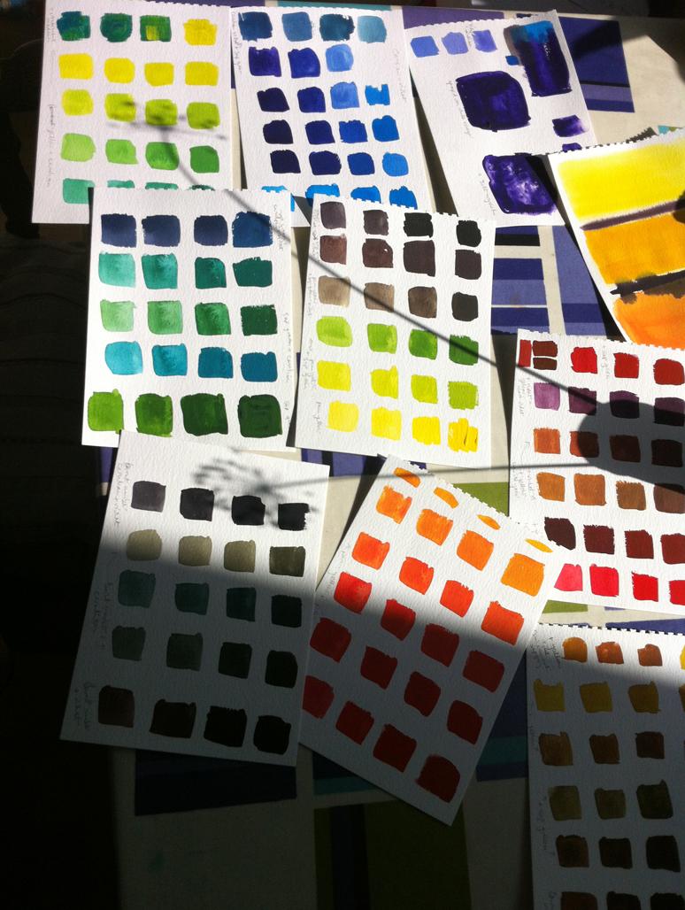 Cath O'Leary testing ShinHan Pass Hybrid colours