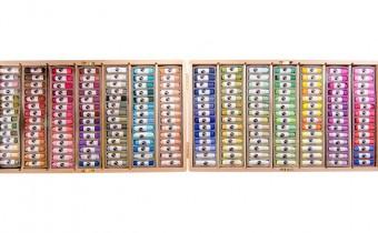 Jacksons Empty Wooden Pastel Case