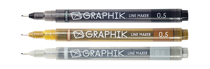 Derwent Graphik Line Makers