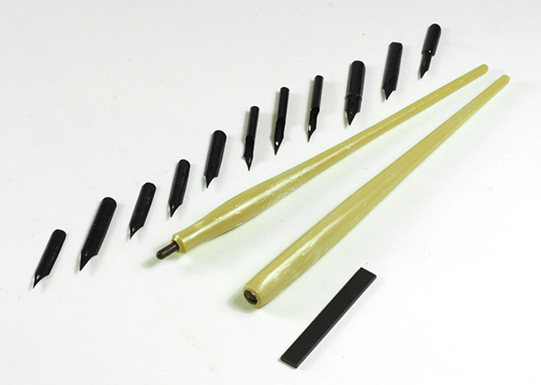 William Mitchell drawing pens