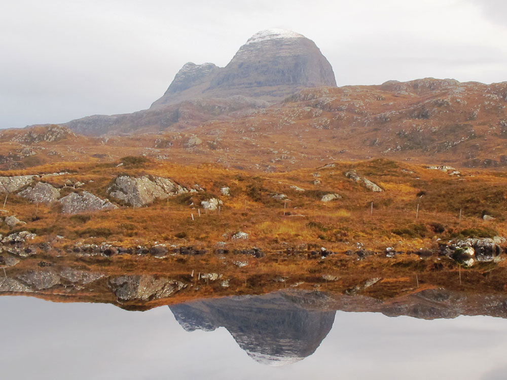 Suilven-with-reflection-Winter-Nigel-Goldie
