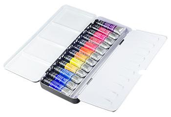 Billy Showell Sennelier Watercolour Set : 12 10ml tubes in Case