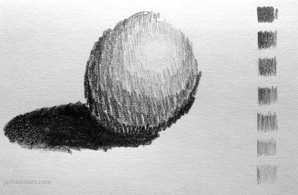 graphite value sphere jacksons art