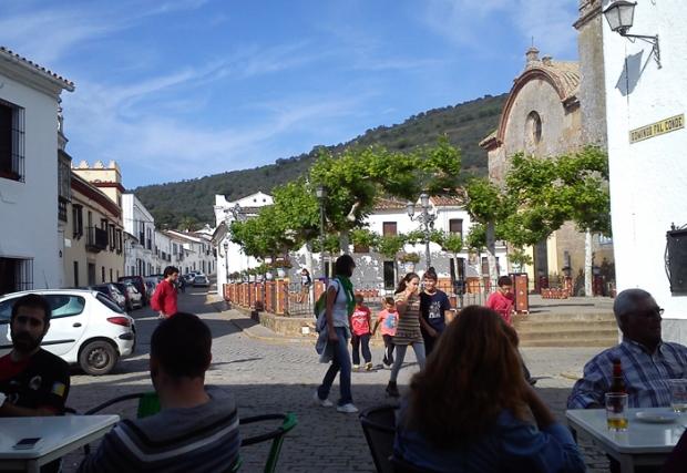 Finca Las Tobas: The village
