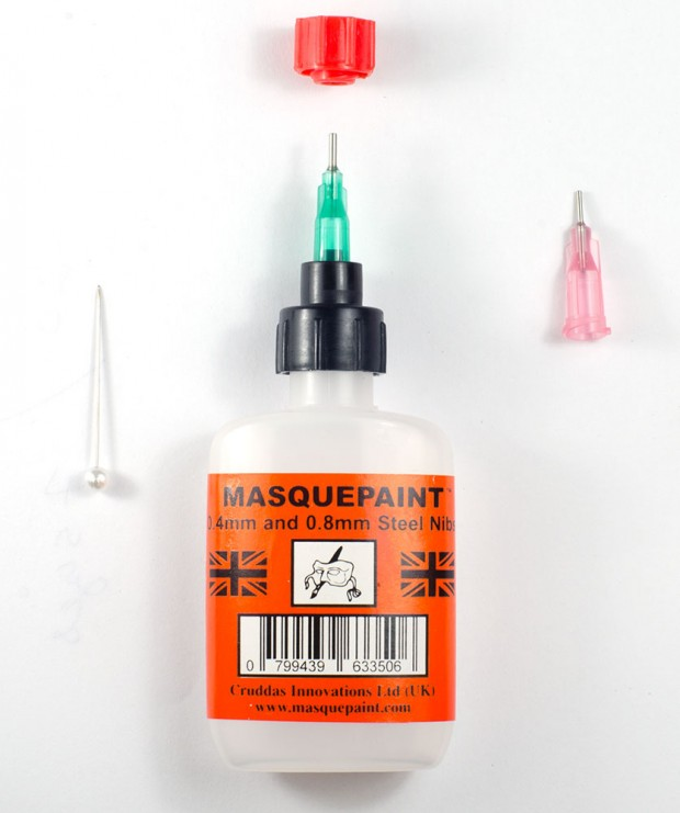 Masquepaint : Applicator for Fluid Paint, Ink and Dye