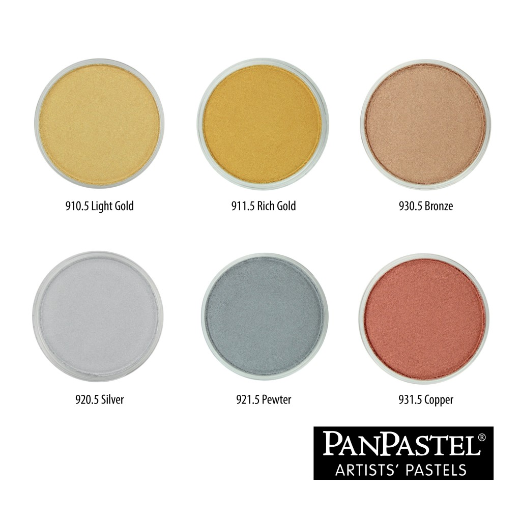 11 Pastel Paint Colors: PanPastel Metallic And Pearlescent Colours And Mediums
