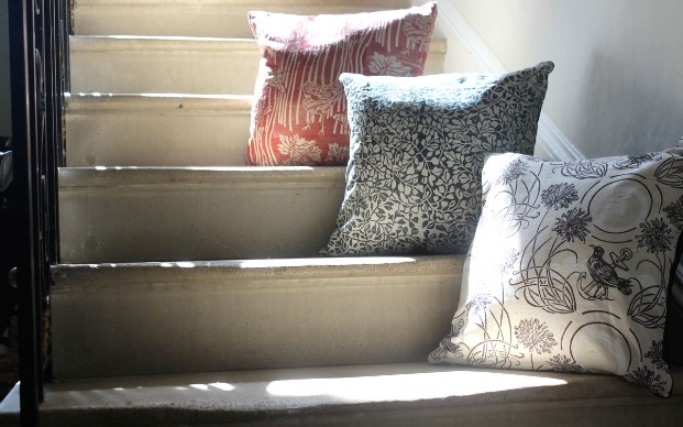 Cushion covers by Susie Hetherington