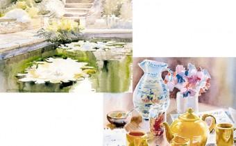 Karen Simmons watercolour paintings