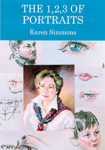 123 of portraits in Watercolour Karen Simmons