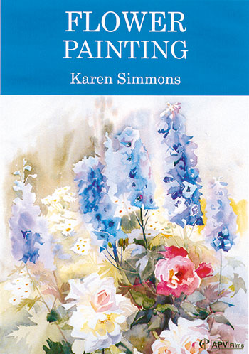 Flower Painting in Watercolour Karen Simmons