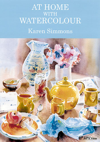 At Home With Watercolour Karen Simmons