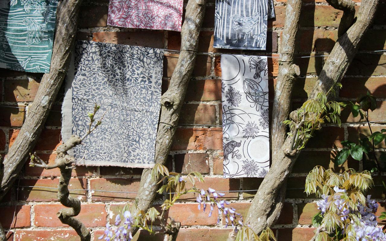 Susie Hetherington's Hanging Fabrics