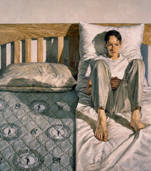 'Double Single' by Clive Smith: 1999 BP Portrait Award Winner