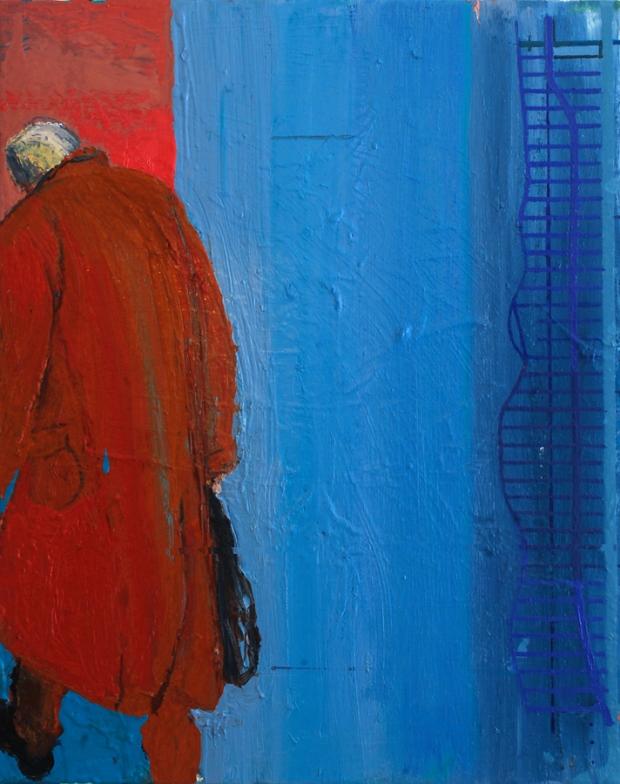 Ashley Hanson: 'City of Glass 15 (Stillman-walks...)'