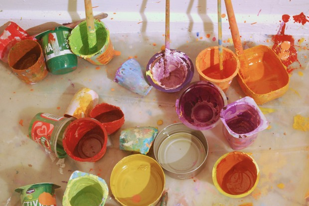Ashley Hanson: The artist's paint pots