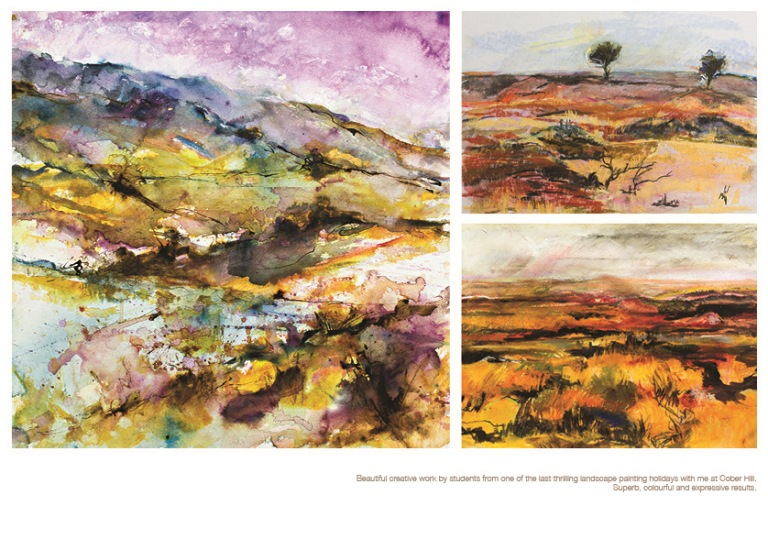 Work from Robert Dutton Art Holidays (http://rdcreative.co.uk/art_holidays)