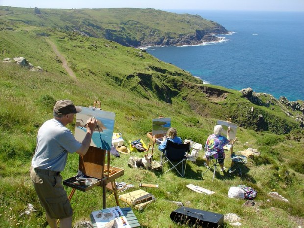 Image from Cornwall Painting Holidays (http://cornwallpaintingholidays.co.uk/)