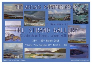 current events Arisaig painters