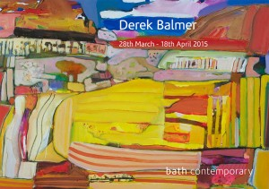 Derek Balmer's first solo exhibition with Bath Contemporary