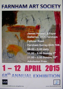 Farnham Art Society's 68th Annual Exhibition 1 - 12 April