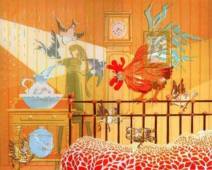Sounds of Morning by Marie Blake screenprint
