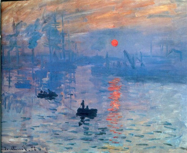 Claude Monet Impression, sunrise 1873