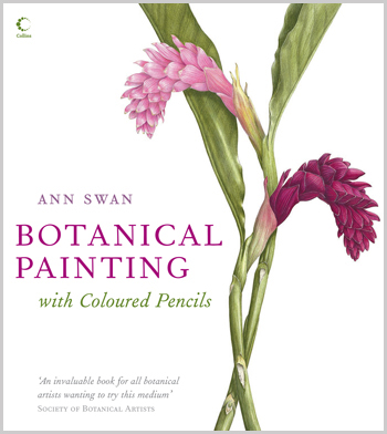 Botanical Painting with Coloured Pencils Book by Ann Swan