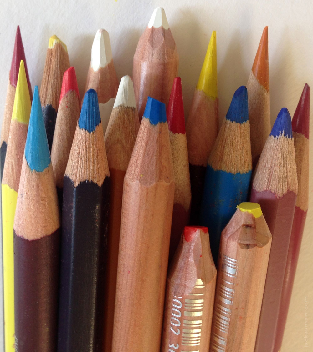 Coloured Pencils At Jackson S