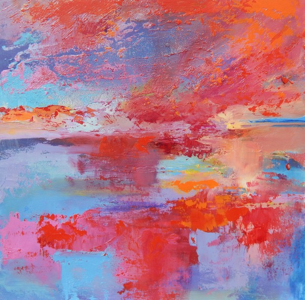 Tracey Ross: 'Sunset Sensation'