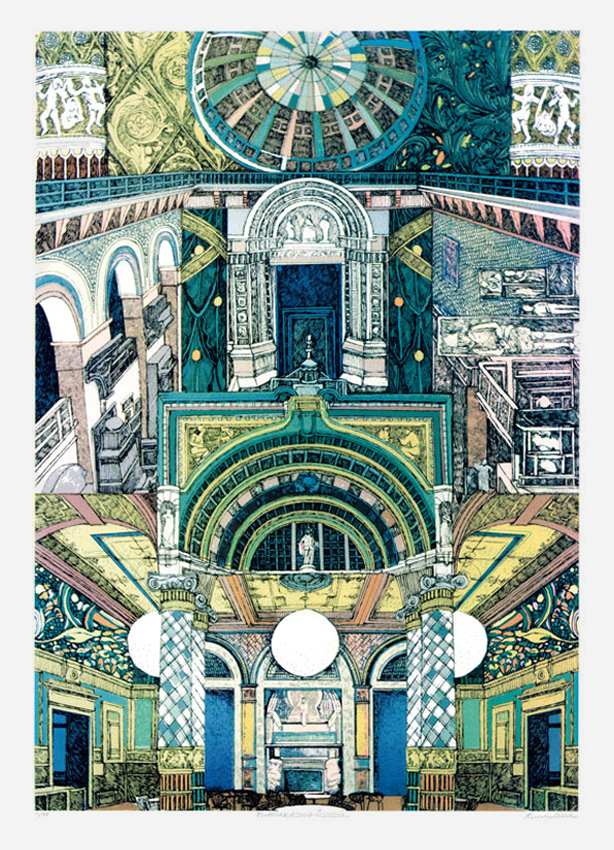 <br> Lucille Clerc: 'V&A MUSEUM EXCLUSIVE PRINT', limited edition  screenprint
