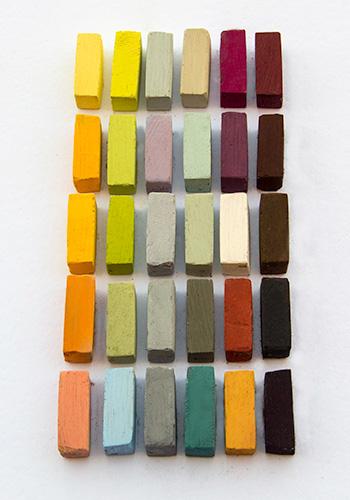 Terry Ludwig : Soft Pastel Set : 30 Liz Haywood-Sullivan Landscape