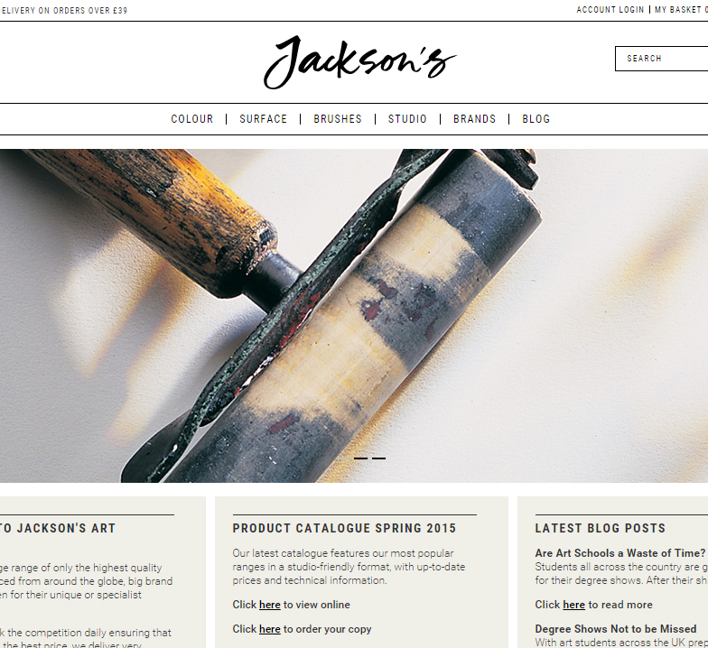 Website Testers - Jackson's Art Blog