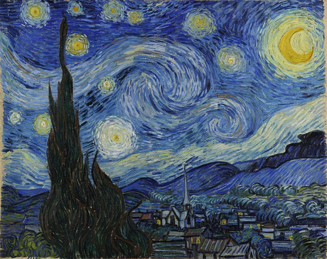 Little recognition while alive: Vincent van Gogh's 'Starry Night'