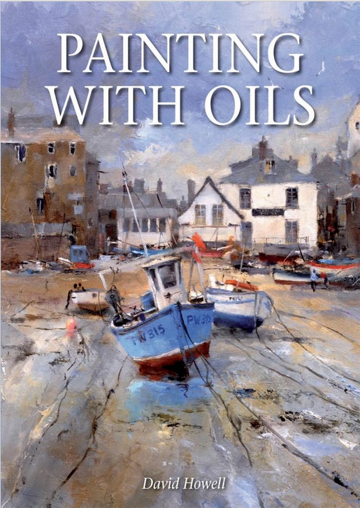 Painting with Oils book by David Howell
