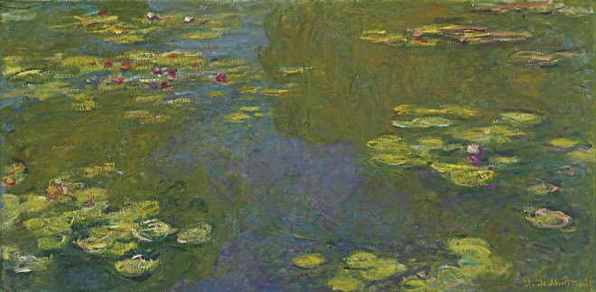 Creative Block: Claude Monet stopped painting for 2 years following the death of his wife Alice (image: 'Le Bassin aux Nympheas'