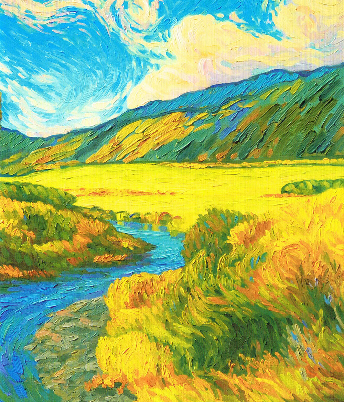 Dynamic brushwork in oils and acrylics jackson 39 s art blog for Oil or acrylic