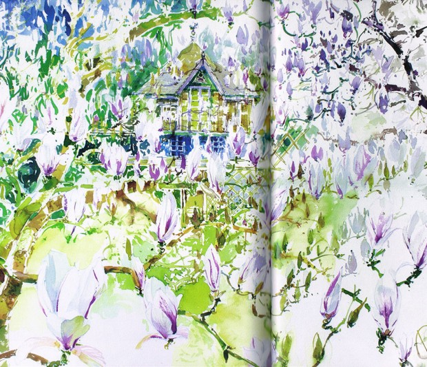 The Magic of Watercolour Flowers: Step by Step Techniques and Inspiration Book by Paul Riley