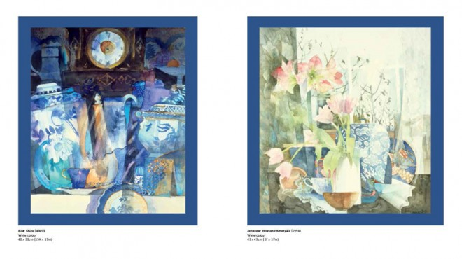 Two of Shirley's Exquisite Paintings (from 'Watercolours')