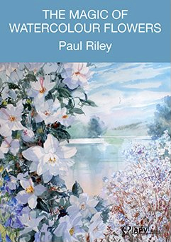 DVD : Magic Of Watercolour Flowers : Paul Riley