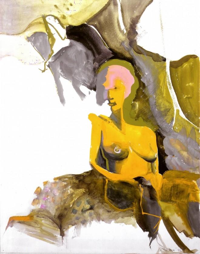 Shirley Trevena: 'Anna's Dream' (1980), watercolour, 40 x 35cm